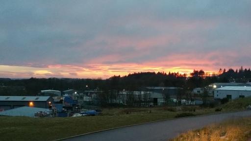 Sunset Over Ellon