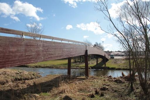 Wooden Bridge Meiklemill